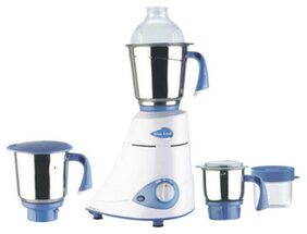 Preethi Silver - Mg149 600 W 3 Jars Centrifugal Juicer ( White & Blue )