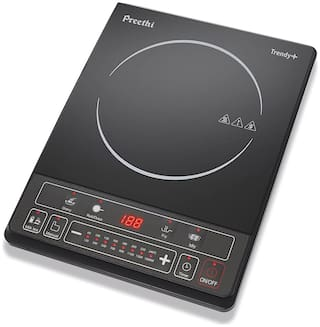 Preethi IC 1161600W 1600 W Induction Cooktop ( Black , Push Button Control)