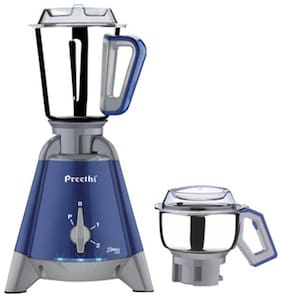 Preethi X PRO DUO - MG 198 1300 W Mixer Grinder ( Blue , 2 Jars )