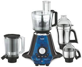 Preethi ZODIAC 2.0 MG235 750 W Juicer Mixer Grinder ( Black & Blue , 4 Jars )
