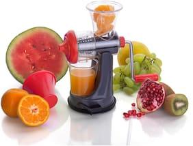Premillia Delta Series Plastic Mini Fruit Juicer Red for Unique Kitchen Tools For Smart People (Set of 1)