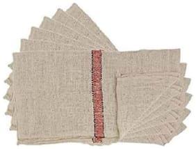 Premium Cleaning Cotton Cloth Floor Pocha Wipe Mop (Pack of 6)