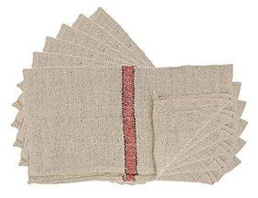 Premium Cleaning Cotton Cloth Floor Pocha Wipe Mop (Pack of 10)