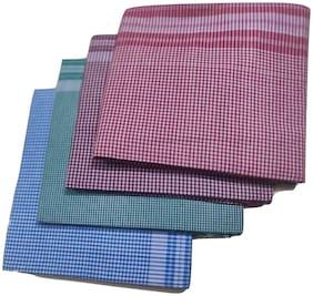 LAFABRIQUEIND 299 GSM Cotton Bath Towel ( Pack of 1 , Assorted )