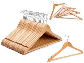 Premium Quality Wooden Henger Pack of 12