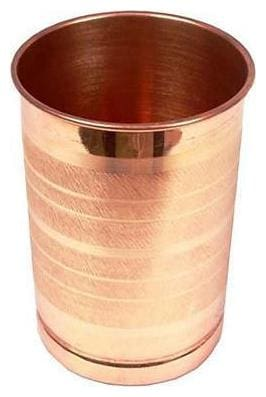 100% Pure Premium Quality Luxury Copper Glass Single