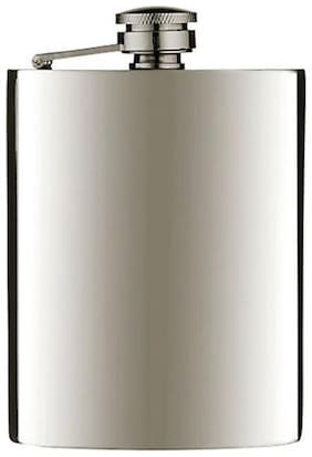 Premium STAINLESS STEEL HIP FLASK WINE Bottle Alcohol Beverage holder 226.79 g (8 Oz)
