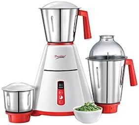 Prestige 41356 750 W Mixer Grinder ( White & Red , 3 Jars )
