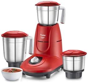 Prestige CLOVIS 550 W Mixer Grinder ( Red , 3 Jars )
