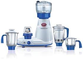 Prestige DELUXE TOTAL LS 750 W Mixer Grinder ( White & Blue , 5 Jars )