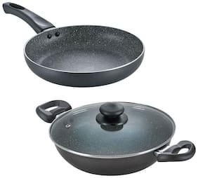 Prestige Granite Kadai 240 + Fry Pan 240