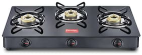 Prestige Magic 3 Burner Regular Black Gas Stove