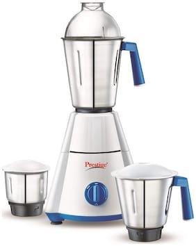 Prestige NAKSHATRA 550 W Mixer Grinder ( White & Blue , 3 Jars )