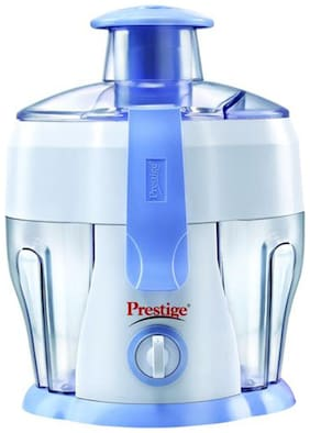 Prestige PCJ 6.0 300 W Juicer ( White & Blue , 1 Jar )