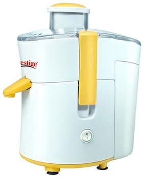 Prestige PCJ 5.0 300 W Juicer ( White & Yellow , 1 Jar )