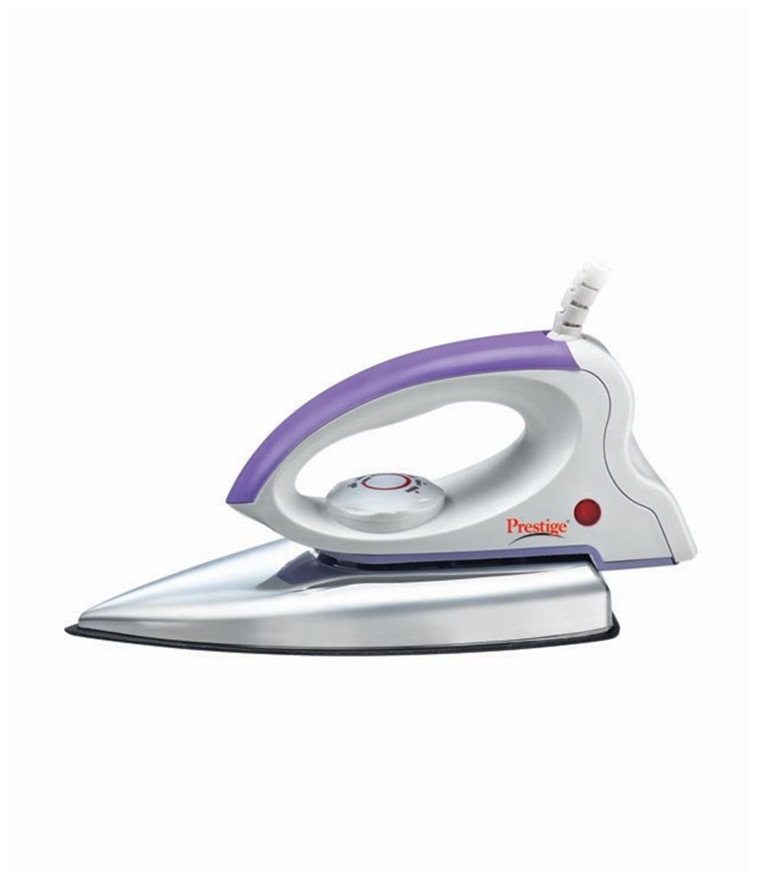 Prestige PDI 03 750 W Dry Iron (White & Purple)