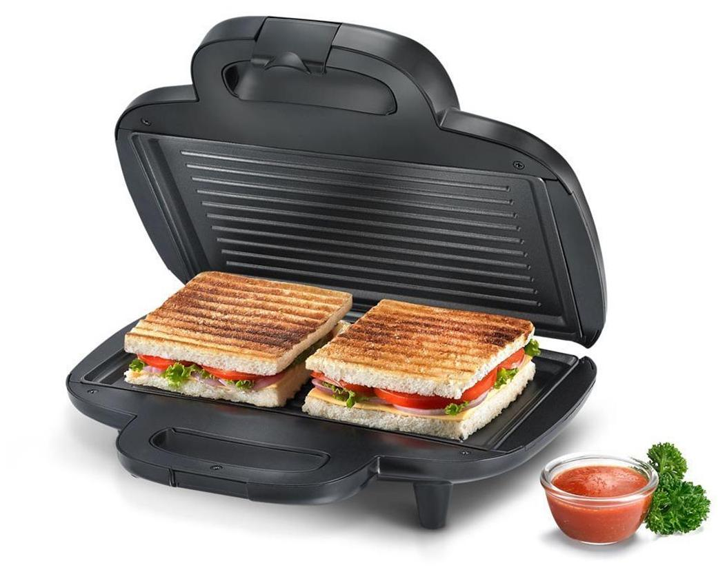 Prestige PGMFD 4 Slice Sandwitch Maker (Black)