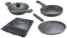 Prestige PIC 16.0+1600W 1600 w Induction Cooktop ( Black )