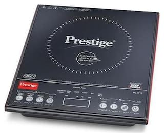 Prestige PIC 3.1 V3 2000 W Induction Cooktop ( Black , Touch Panel Control)