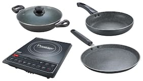 Prestige PIC 16.0+1600W 1600 W Induction Cooktop ( Black , Touch Panel Control)