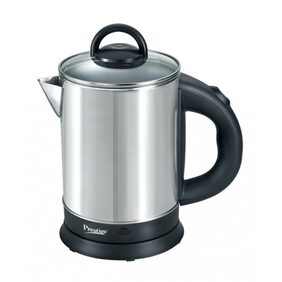Prestige PKGSS 1.7 L Electric Kettle (Silver & Black)