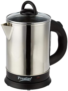 Prestige PKGSS 1.7 L Silver & Black Electric Kettle ( 1500 W )