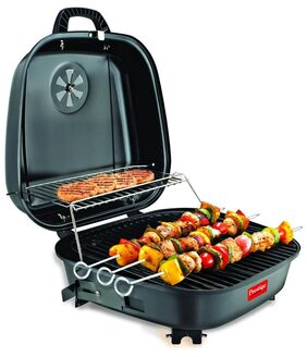 Prestige PPBB-02 Barbeque (Black)