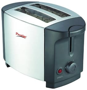 Prestige PPTSKS 2 2 Slices Pop-Up Toaster - Silver & Black