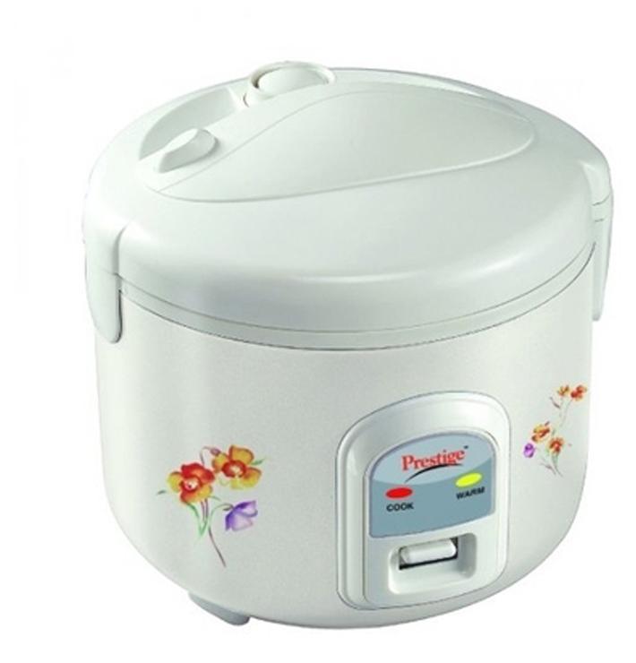 Prestige PRWCS 1.2 1.2 L Rice Cooker (White)