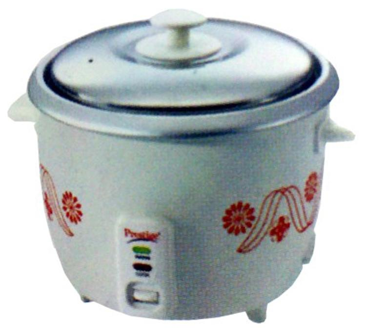 Prestige PRWO 1.8 1 L Rice Cooker (White)