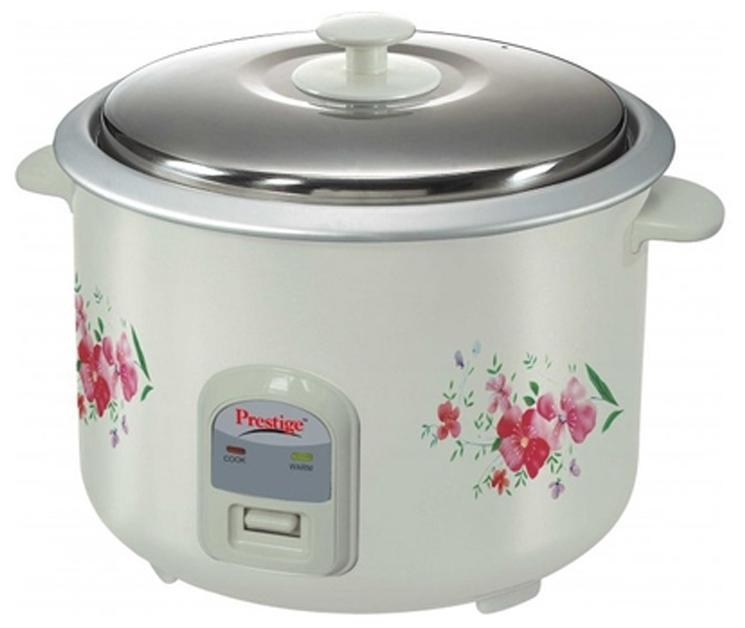 Prestige PRWO 2.8 L Rice Cooker (White)