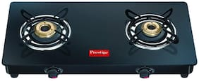 Prestige Special Magic 2 Burner Regular Black Gas Stove ,