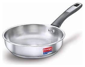 Prestige SS Platina Popular Fry Pan 240 mm Silver
