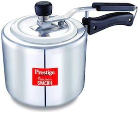 Prestige Svachh Straight Wall Aluminium Pressure Cooker 1.5L