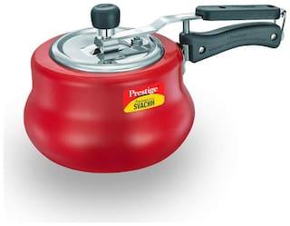 Prestige Svachh 3 L Inner Lid Pressure Cooker Induction Bottom ( Red , Aluminium , Set of 1 )