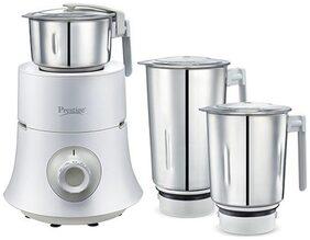 Prestige Teon 750 W 3 Jars Mixer Grinder ( White )