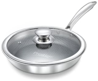 Prestige Tri Ply Honey Comb Non Stick Fry Pan 240mm