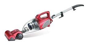 Prestige Typhoon 01 Clean Home Vacuum Cleaner (Red & Silver)