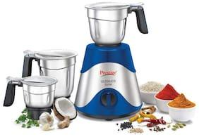 Prestige ULTIMATE PLUS 550 W Juicer Mixer Grinder ( Blue , 3 Jars )