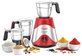 Prestige ULTIMATE 750 W Juicer Mixer Grinder ( Red , 3 Jars )