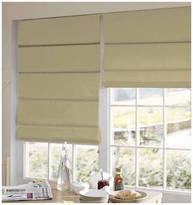 Presto Beige Plain Satin Window Blind