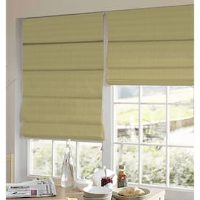 Presto Beige Stripes Satin Window Blind