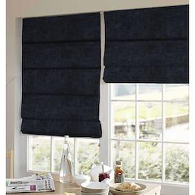 Presto Black Solid Velvet Window Blind
