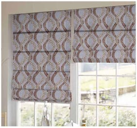 Presto Brown Geometrical Printed Window Blind