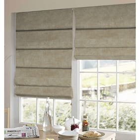Presto Cream Solid Velvet Window Blind