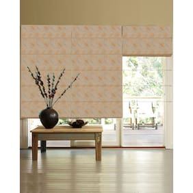 Presto Gold Floral Jacquard Window Blind