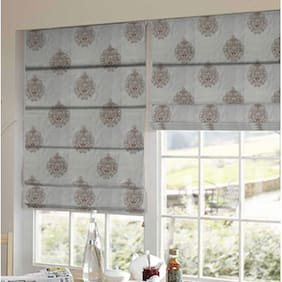 Presto Gold Abstract Tissue Embroidered Window Blind