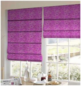 Presto Pink Floral Jacquard Window Blind