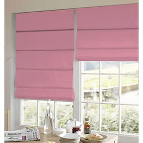 Presto Pink Plain Satin Window Blind