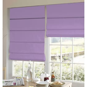 Presto Purple Plain Satin Window Blind